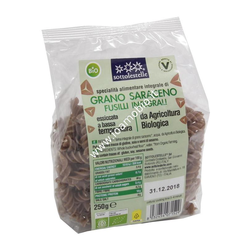 Fusilli di grano saraceno integrale 250g