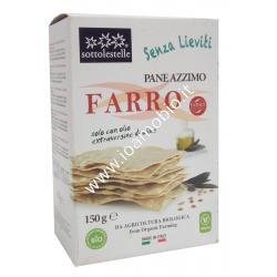 Pane Azzimo di Farro 150g - Biologico con Olio Extravergine di Oliva