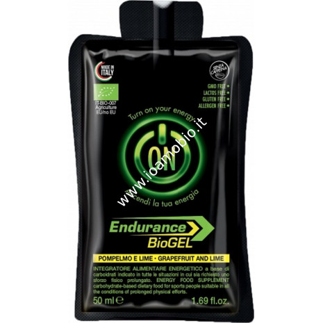 Gel endurance s/caffeina-pompelmo e lime 50ml