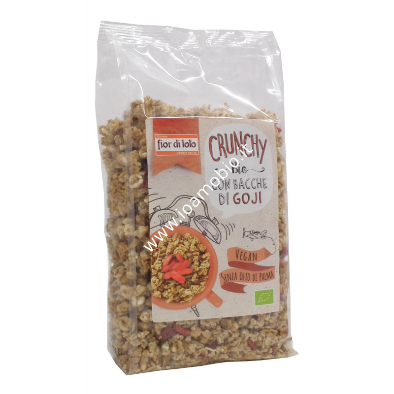 Crunchy c/avena e goji bio375g