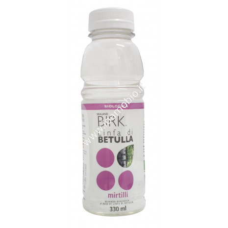 Sealand Birk - Linfa di Betulla Mirtillo 330ml - Biologica Drenante