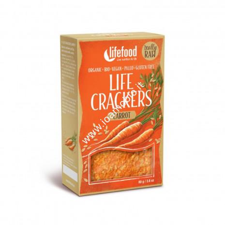 Crackerini alle carote raw - LF 85g
