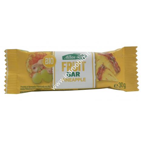 Barretta di Frutta con Ananas 30g - Snack Allos Biologico