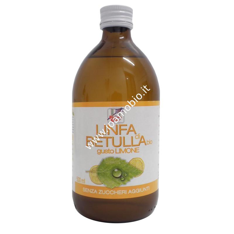 Linfa di betulla -gusto limone 500ml