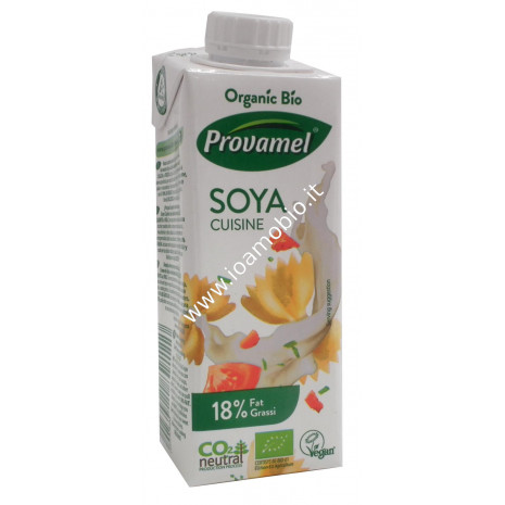 Soya Cuisine con tappo richiudibile 250ml