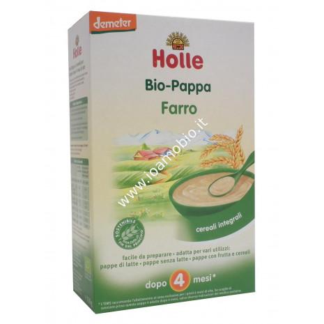 Pappa di Farro Integrale Holle 250g - Baby Food Biologico Dopo i 4 Mesi
