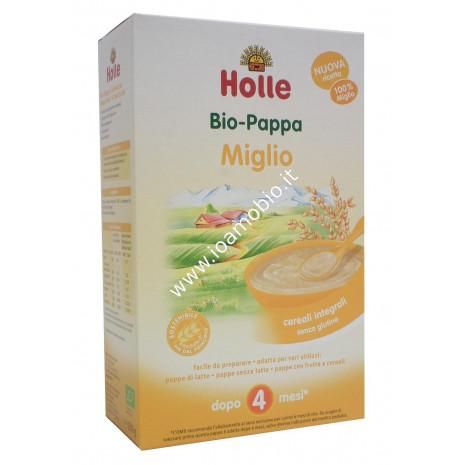 Pappa di Miglio con Riso Holle 250g - Baby Food Biologico Dopo i 4 Mesi