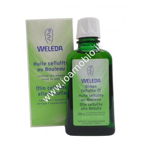 Olio Cellulite alla Betulla Weleda 100ml - Per gli Inestetismi della Cellulite