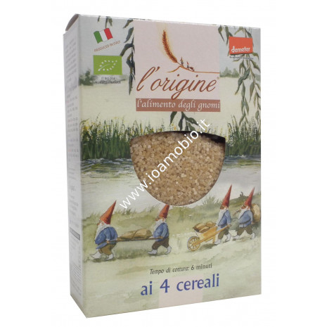Pastina 4 Cereali Tempestine di Grano Duro Bio 250g - L'Origine