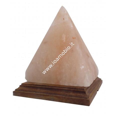 Lampada di Sale Rosa dell' Himalaya Piramide 2 kg circa