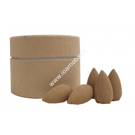 Coni Incenso Naturale Sandalo Qualità A - Sandalwood 25 pz