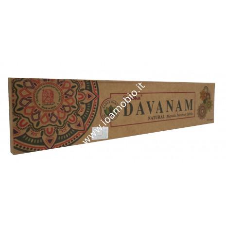 Incenso Organico Goloka - Davanam - Incenso Biologico Indiano