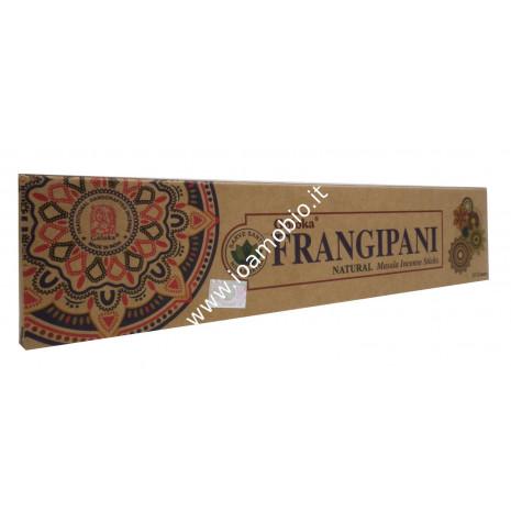 Incenso Organico Goloka - Frangipani - Incenso Biologico Indiano