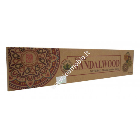 Incenso Organico Goloka - Sandalwood - Incenso Biologico Indiano