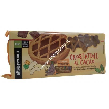 Crostatine al Cacao Bio 4x45g - Merendina Biologica Altromercato