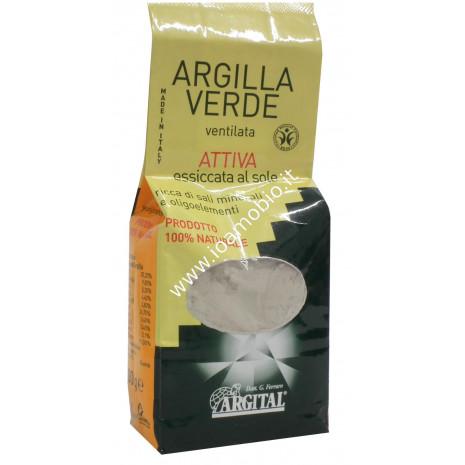 Argilla verde ventilata attivata 500g per uso interno - Argital
