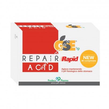 GSE Repair Rapid Acid 36 compresse - Acidità di Stomaco