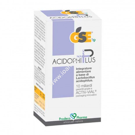 GSE Acidophiplus 30 capsule - Integratore di Fermenti Lattici