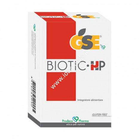 GSE Biotic- HP 40 cpr - Integratore per Helicobacter Pylori