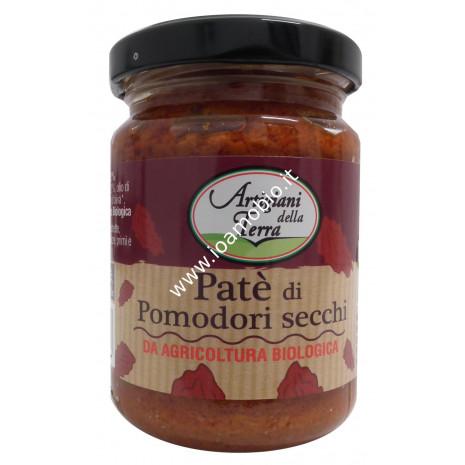Patè di Pomodori Secchi 140g - Crema Biologica Spalmabile di Pomodori Secchi