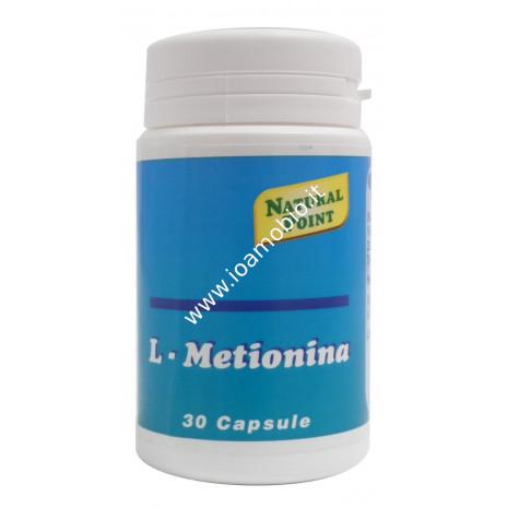 L- Metionina 30 cps - Amminoacidi - utile per pelle, unghie e capelli