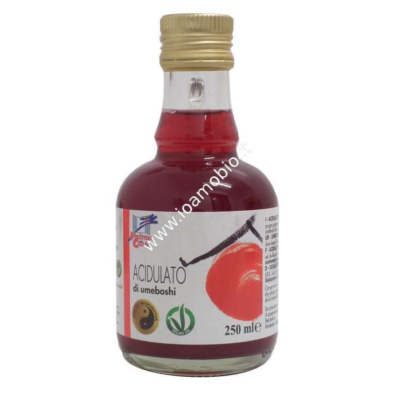 Acidulato di umeboshi 250ml