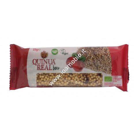 Quinua Real - Barretta di Quinoa con Cranberries 25g