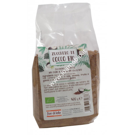 Zucchero di Cocco Biologico 500g - Il Fior di Loto