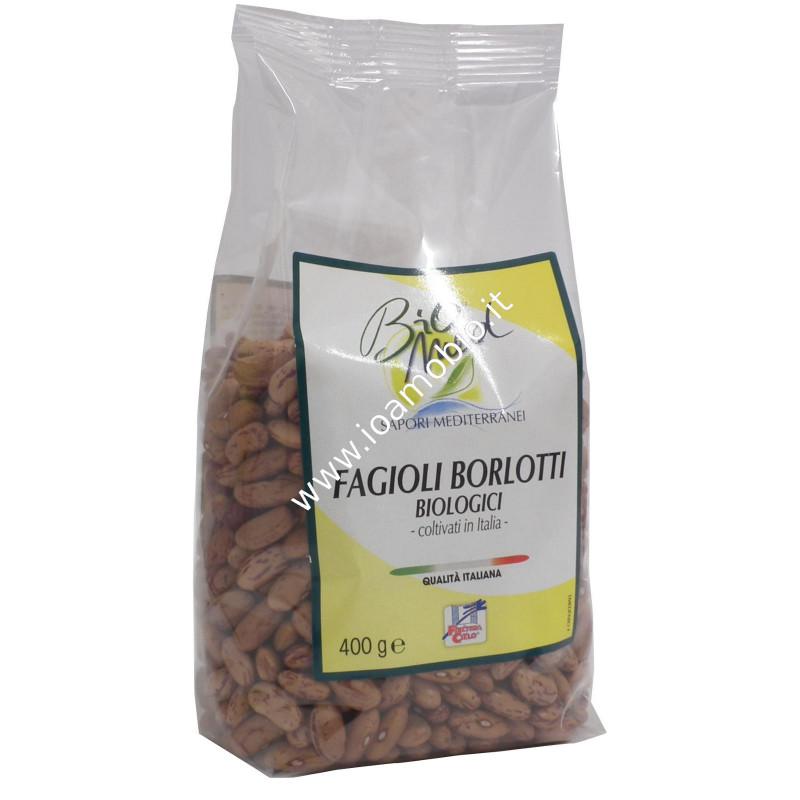 Biomed fagioli borlotti italiani 400g