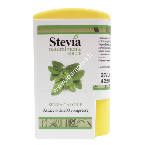 Stevia in compresse -200 cpr