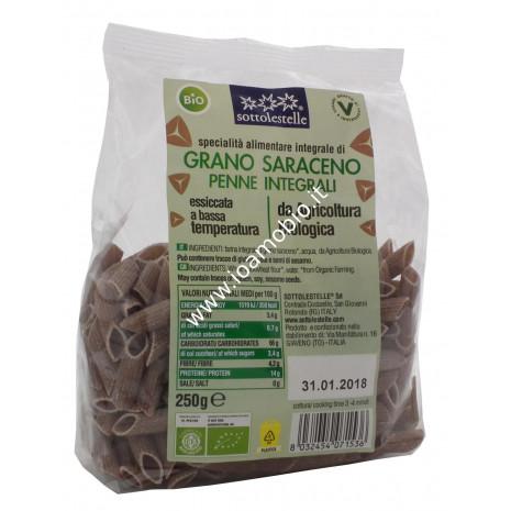 Penne di grano saraceno integrale 250g