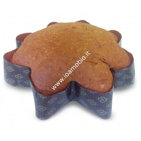 Stella di Farro 600g - Panettone Biologico Vegan lievitato con Pasta Madre