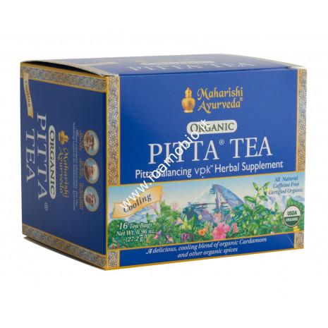 Tisana Ayurvedica Pitta 16 filtri - Tè Pitta - Miscela di Erbe e Spezie Bio