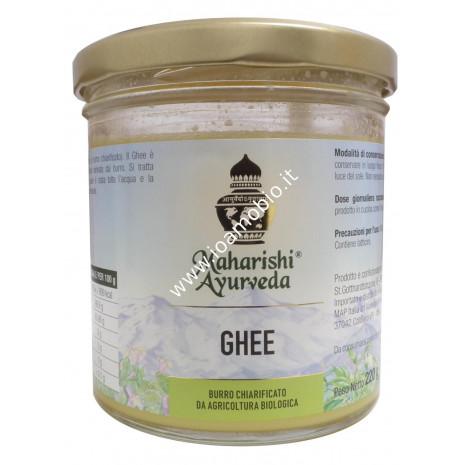 Ghee Bio - Burro Chiarificato Biologico 220g - Burro Maharishi Ayurveda