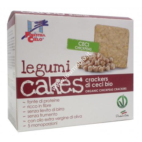 Legumicakes - Crackers di ceci 250g (5x50g)
