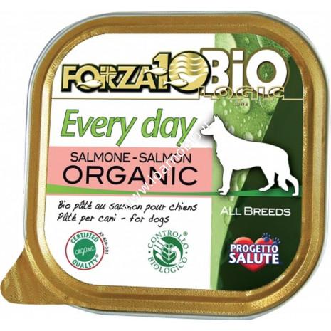 Patè al Salmone per Cani 100g - Cibo Biologico Forza10