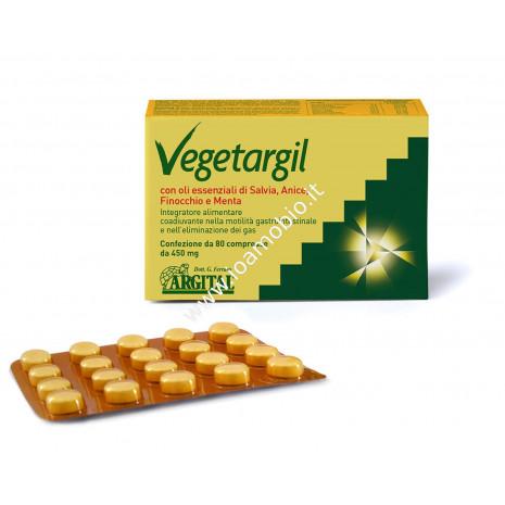 Vegetargil 80cpr- Compresse di Argilla Verde con Salvia Anice Finocchio e Menta