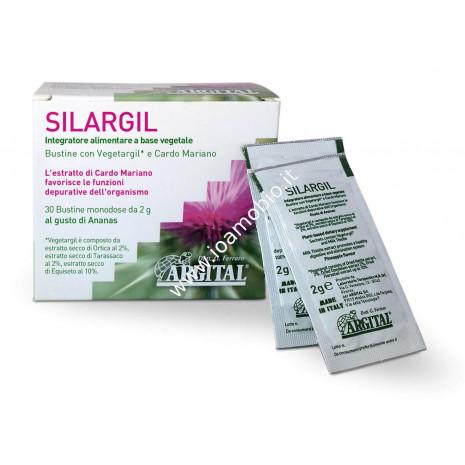 Silargil 30 bustine con Argilla Verde e Cardo Mariano - Depurazione Organismo