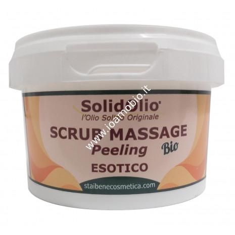 Solidolio Bio Scrub Esotico 300g - Crema Scrub per Peeling Attivo ma Delicato