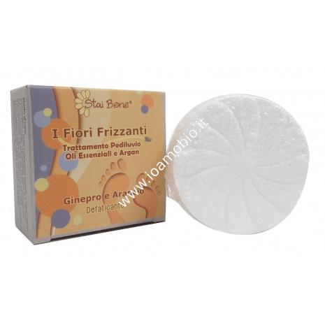 Fiore frizzante pediluvio Ginepro Arancio 75g