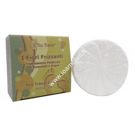 Fiore frizzante pediluvio Tea Tree Limone 75g