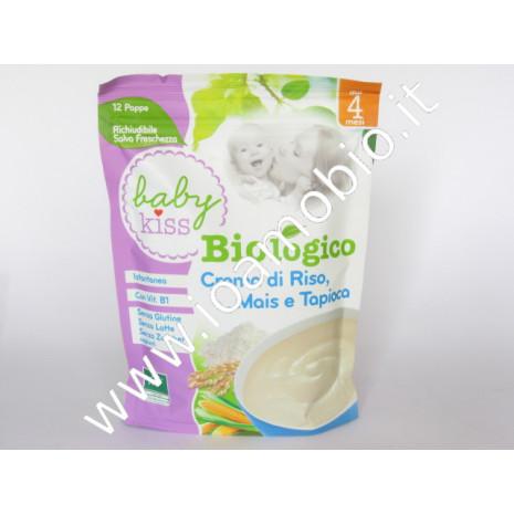 BABY Kiss - Crema di Riso, Mais e Tapioca 200g