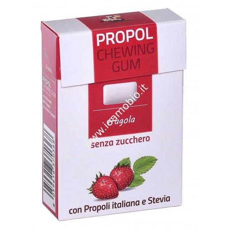 PROPOL GUM con Propoli e Stevia 25 gr. (Fragola)