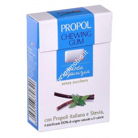 PROPOL GUM con Propoli e Stevia 25 gr. (Menta/Liquirizia)