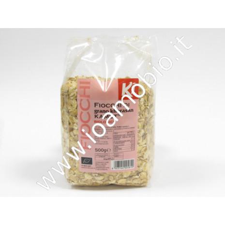 Fiocchi di grano khorasan KAMUT® 500g