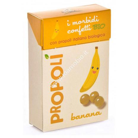 Propolì Morbidi Confetti alla Banana Bio 30 gr