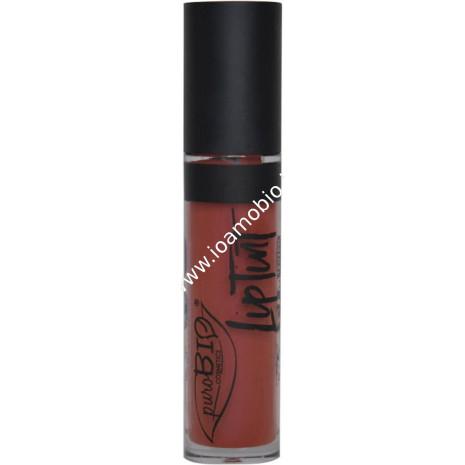 Rossetto Liquido Lip Tint 04 Lampone Scuro Matte Finish - PuroBio Cosmetics