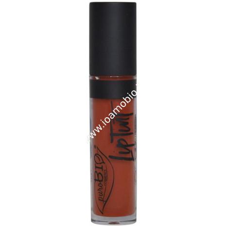 Rossetto Liquido Lip Tint 05 Rosa Corallo Matte Finish - PuroBio Cosmetics