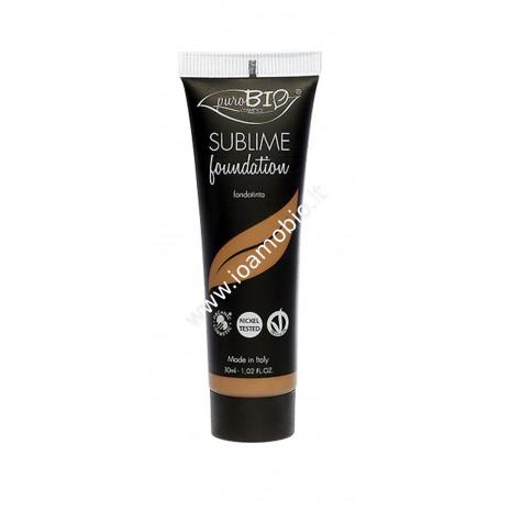 Fondotinta Fluido Sublime 07 - PuroBio Cosmetics