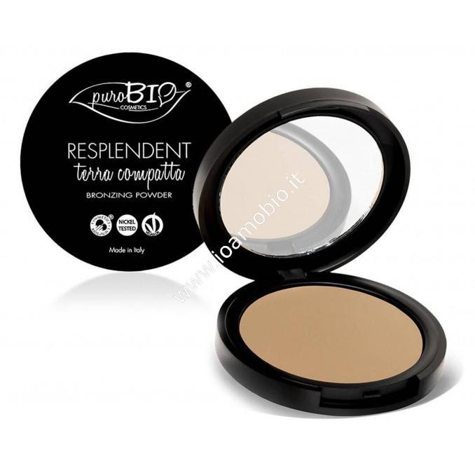 Terra Resplendent Bronzer Matt 01 - PuroBio Cosmetics